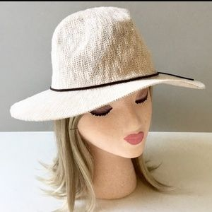 Soft Woven Bohemian Natural Ladies Hat